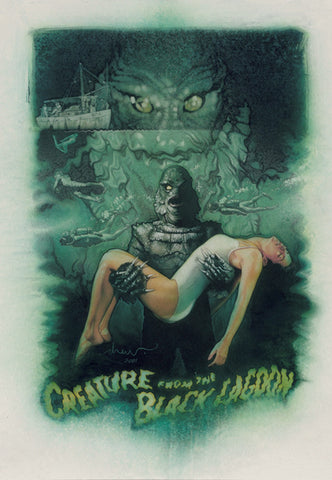 CREATURE FROM THE BLACK LAGOON by Drew Struzan