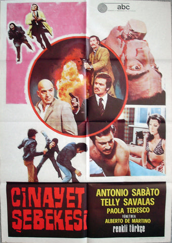 CRIME BOSS - Turkish poster