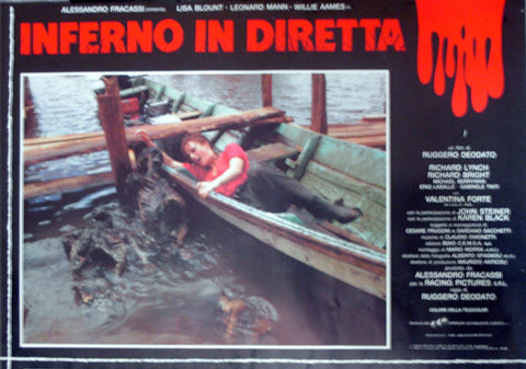 CUT AND RUN - Italian photobusta poster v1