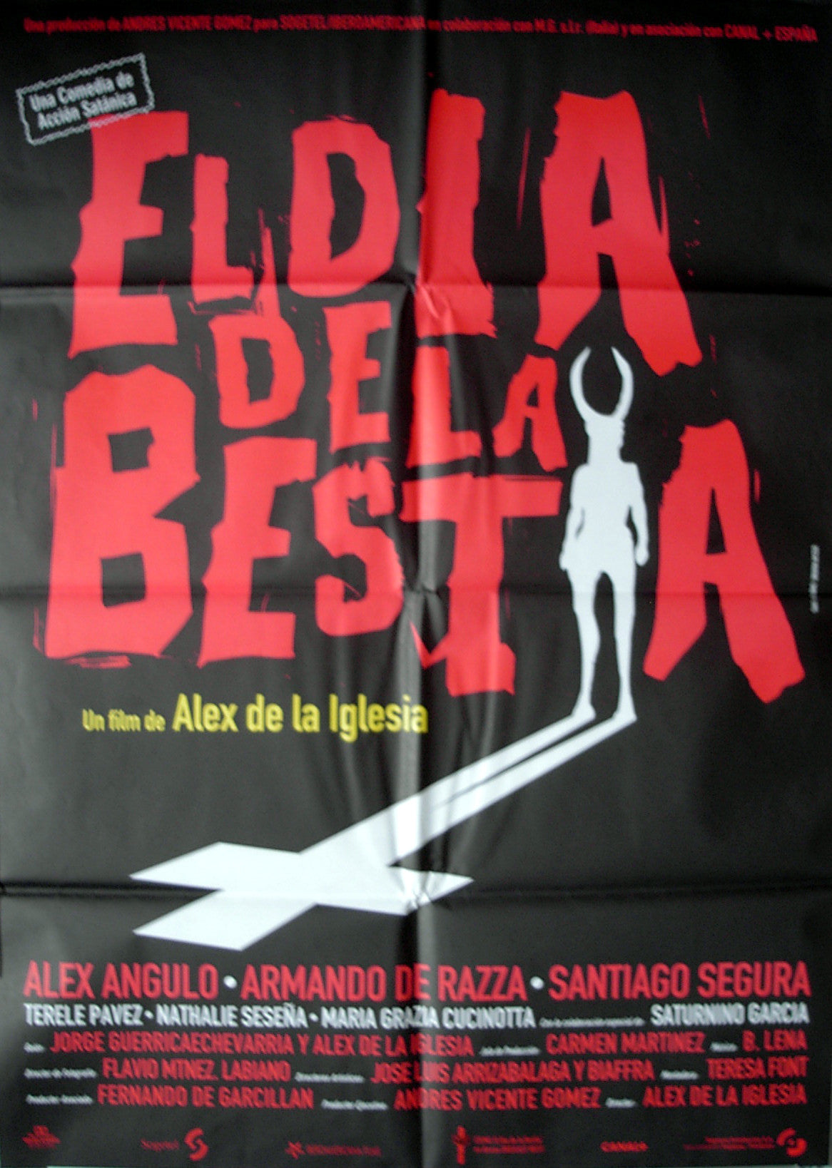 DAY OF THE BEAST - Spanish poster