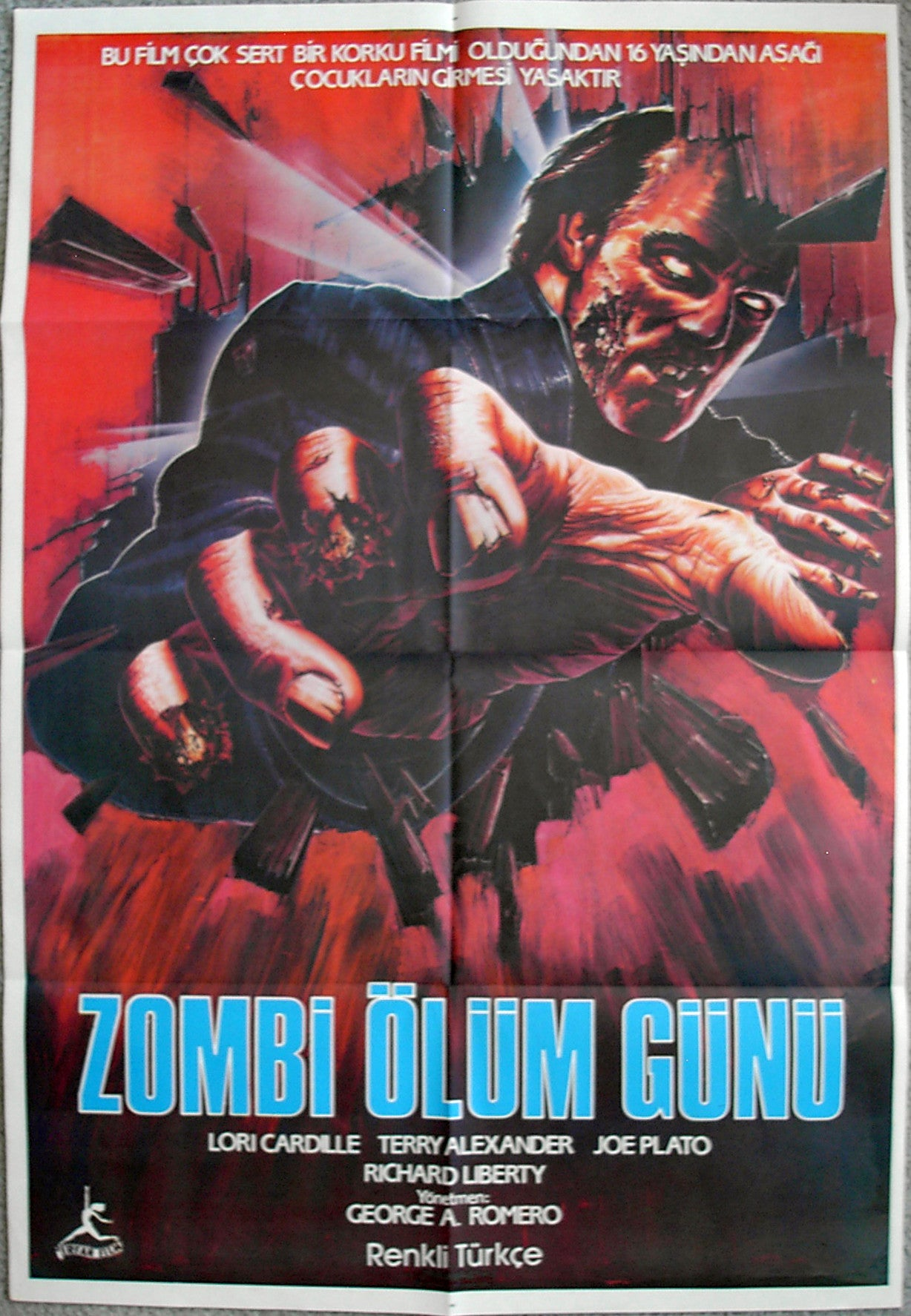 DAY OF THE DEAD - Turkish poster
