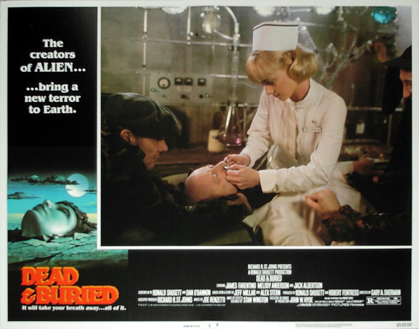 DEAD & BURIED - US lobby card v2