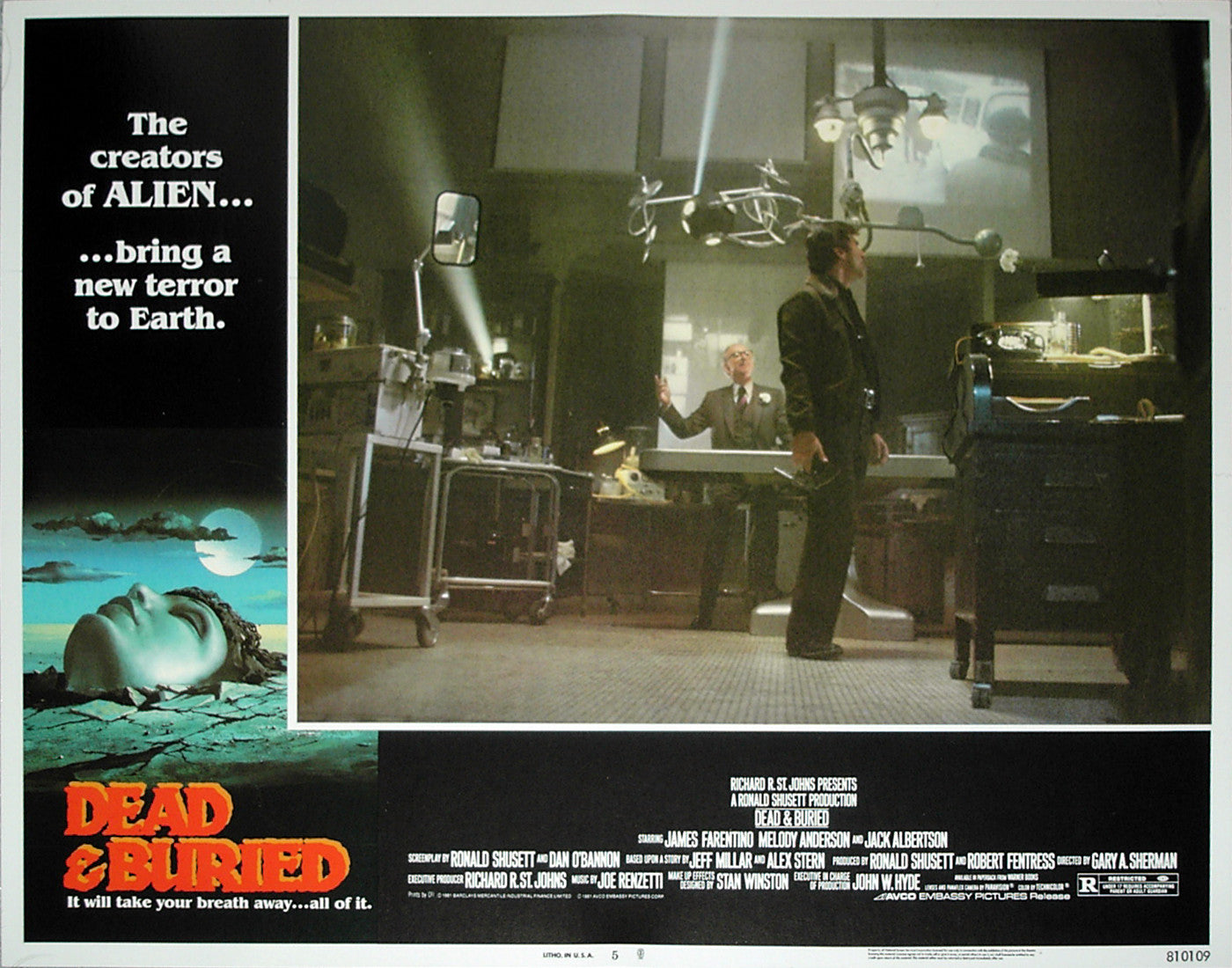 DEAD & BURIED - US lobby card v5