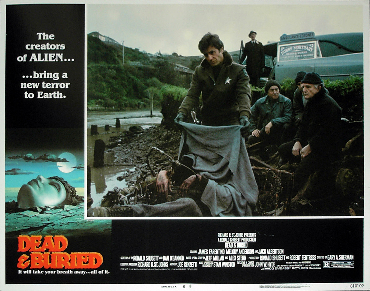 DEAD & BURIED - US lobby card v6