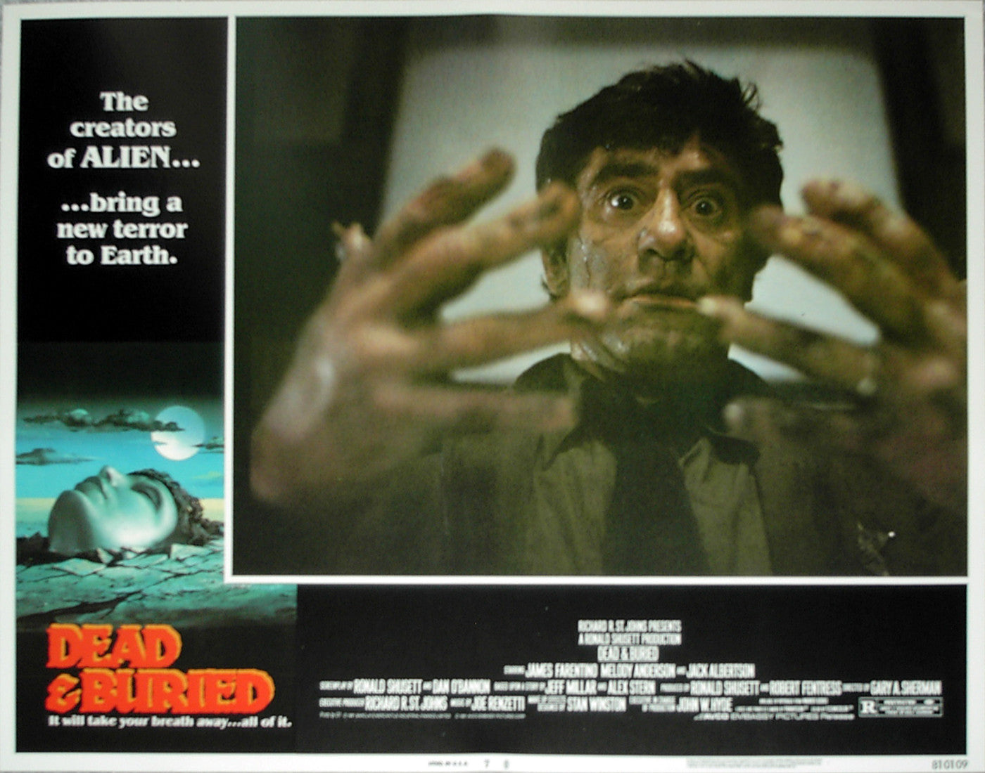DEAD & BURIED - US lobby card v7