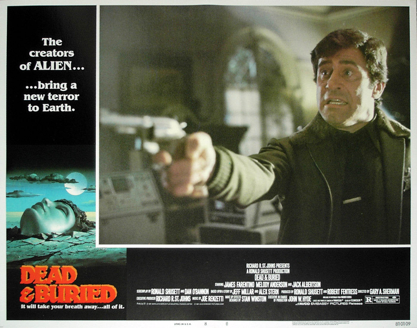 DEAD & BURIED - US lobby card v8