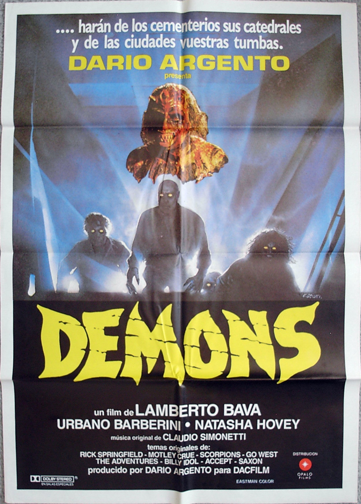DEMONS - Spanish poster