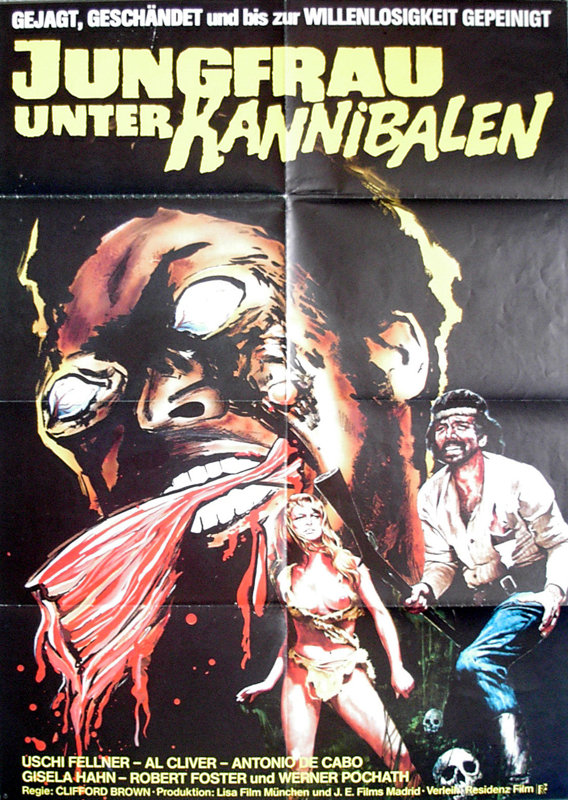 DEVIL HUNTER - German poster