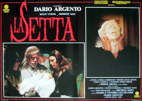 DEVIL'S DAUGHTER, THE - Italian photobusta poster