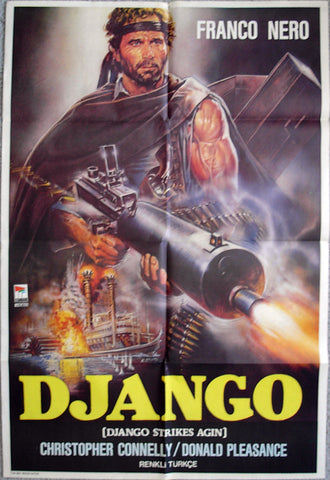 DJANGO STRIKES AGAIN - Turkish poster