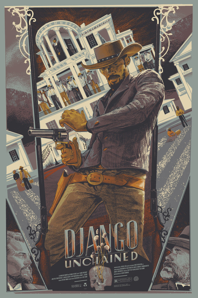 DJANGO UNCHAINED (variant) by Rich Kelly