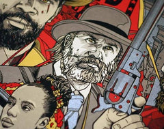 DJANGO UNCHAINED (regular) by Tyler Stout