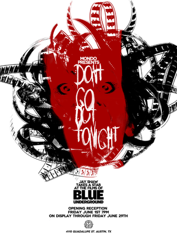 DON'T GO OUT TONIGHT by Jay Shaw