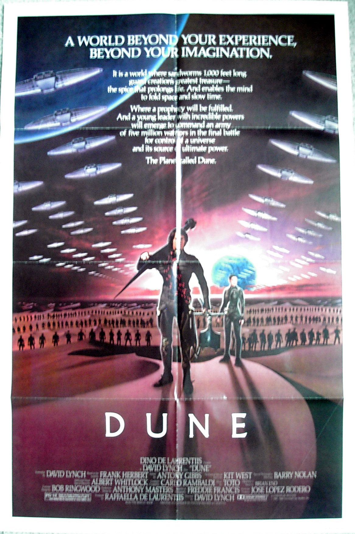DUNE - US one-sheet poster