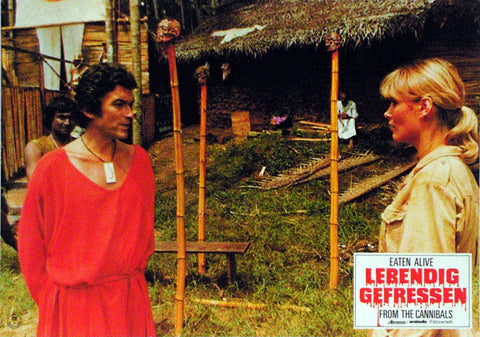 EATEN ALIVE! - German lobby card v04