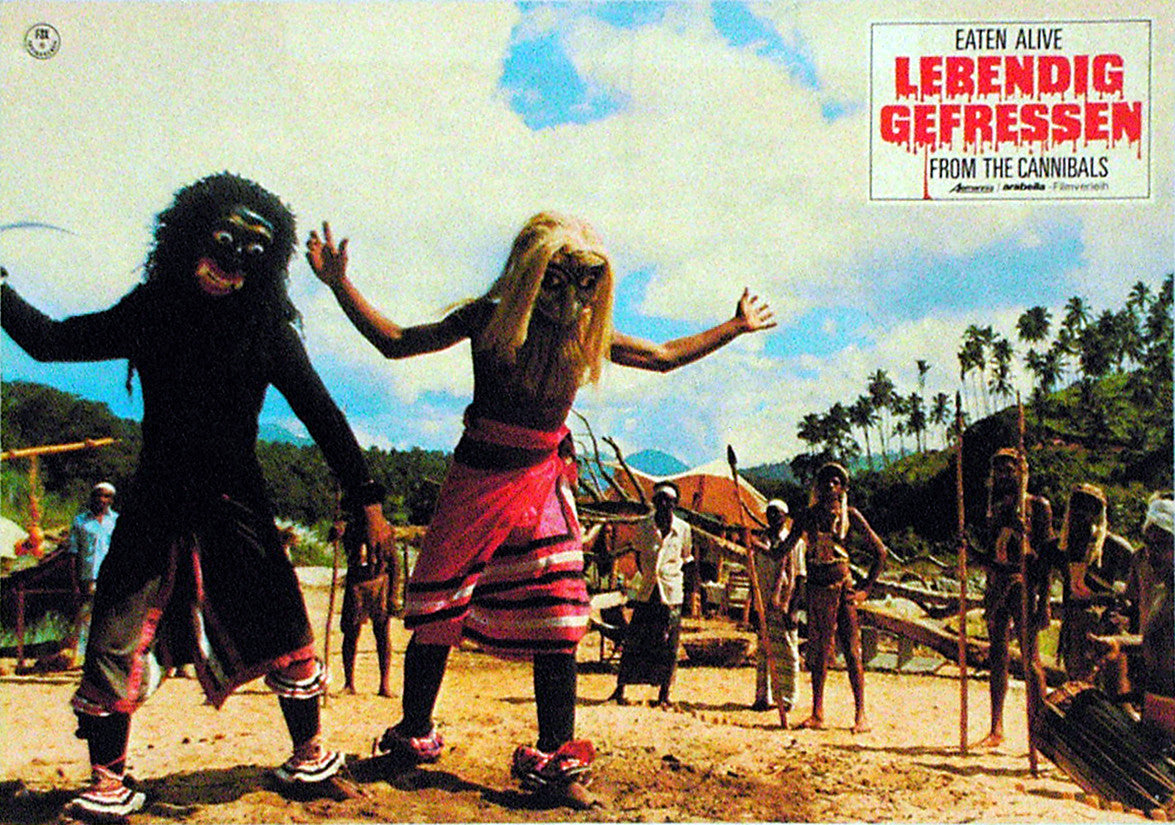 EATEN ALIVE! - German lobby card v05