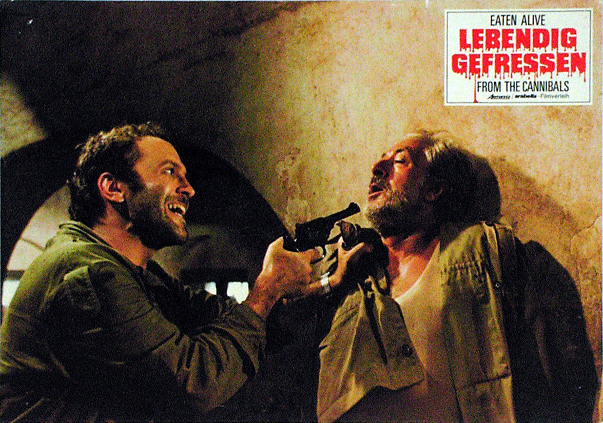 EATEN ALIVE! - German lobby card v11