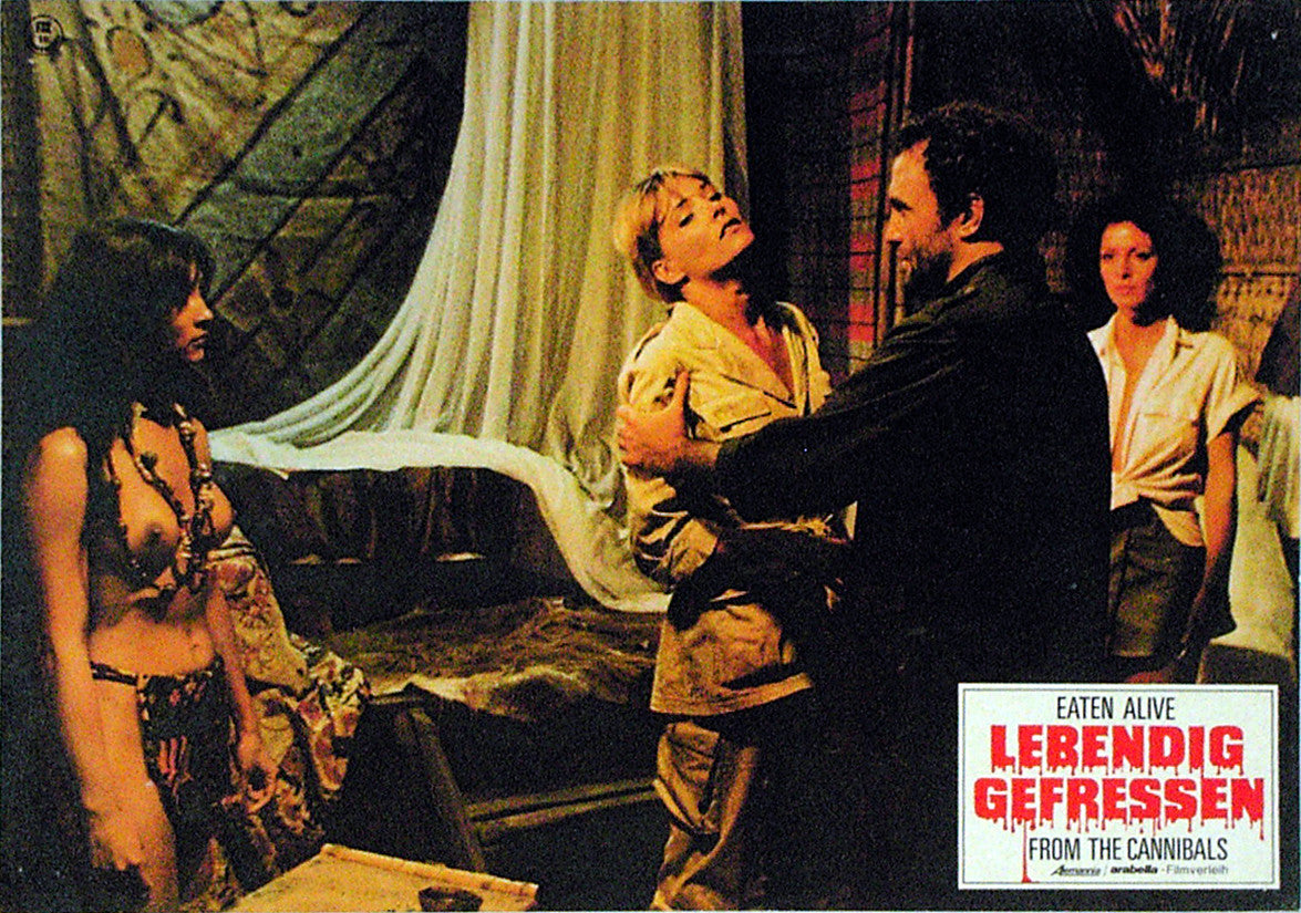 EATEN ALIVE! - German lobby card v14
