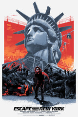 "ESCAPE FROM NEW YORK (regular) by Grzegorz ""Gabz"" Domaradzki"