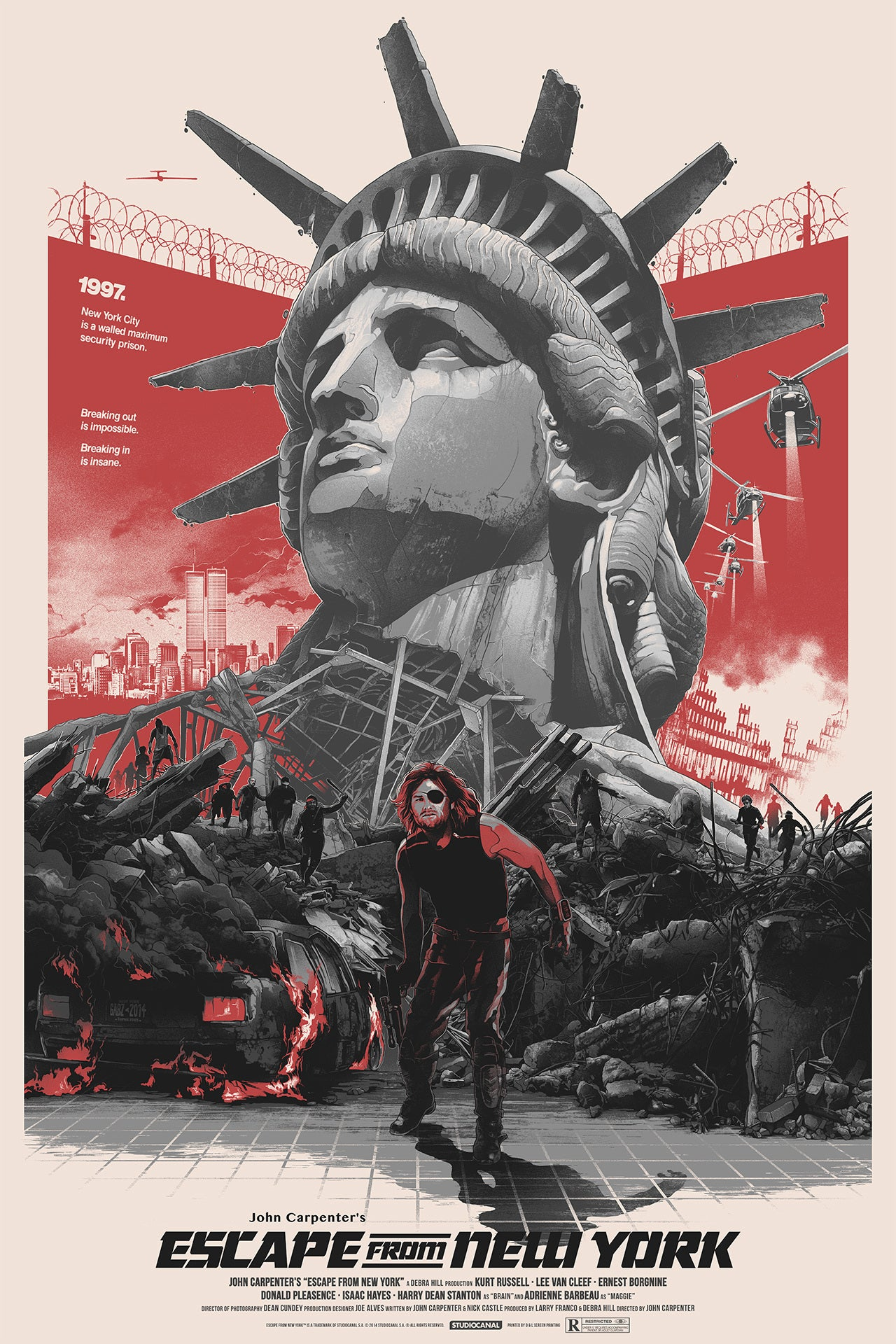 "ESCAPE FROM NEW YORK (variant) by Grzegorz ""Gabz"" Domaradzki"