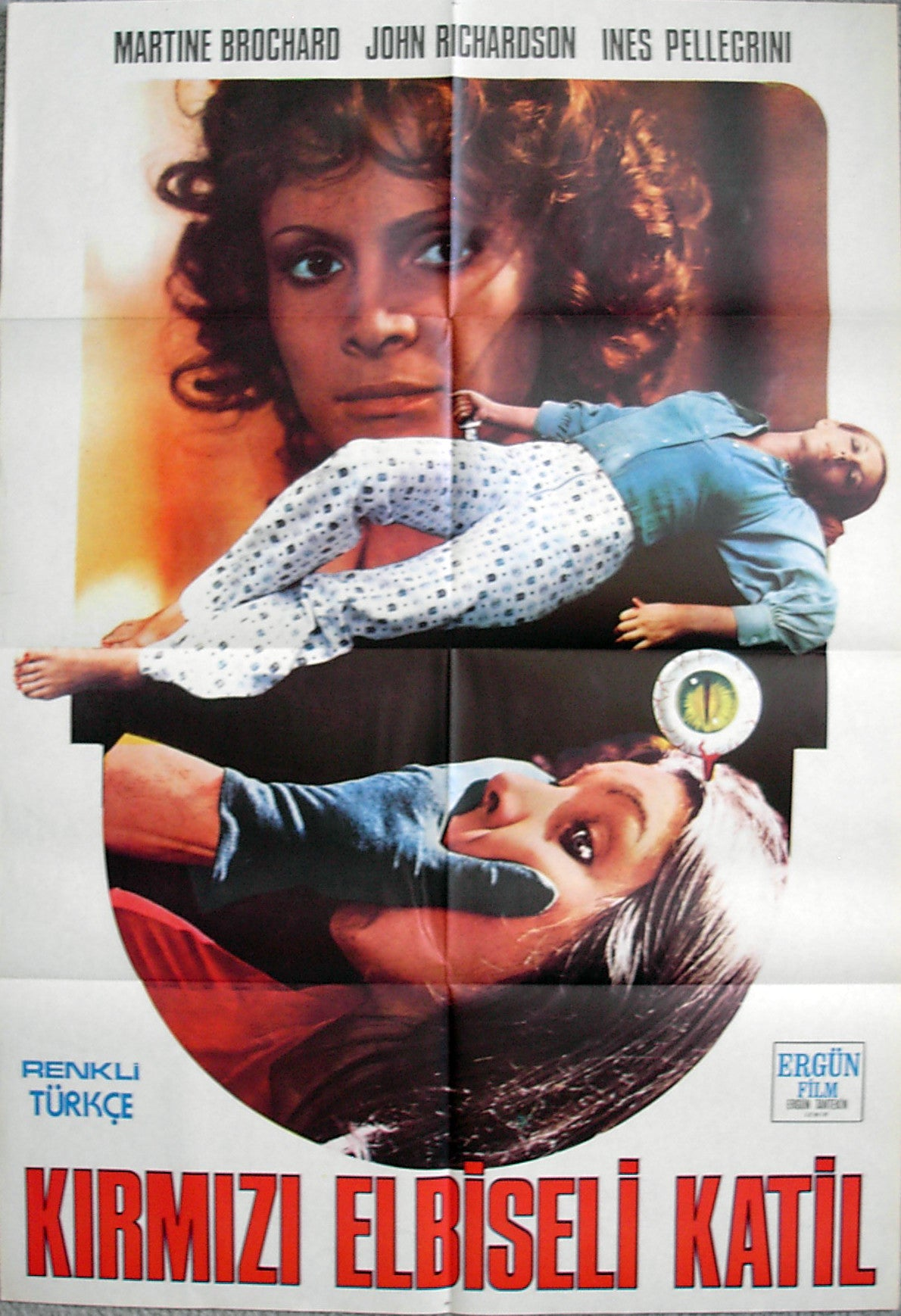 EYEBALL - Turkish poster