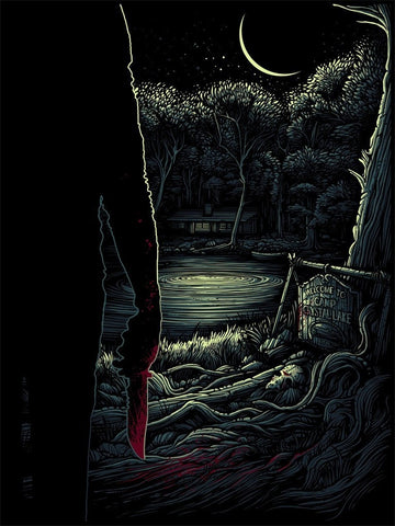 FRIDAY the 13th (regular) by Dan Mumford