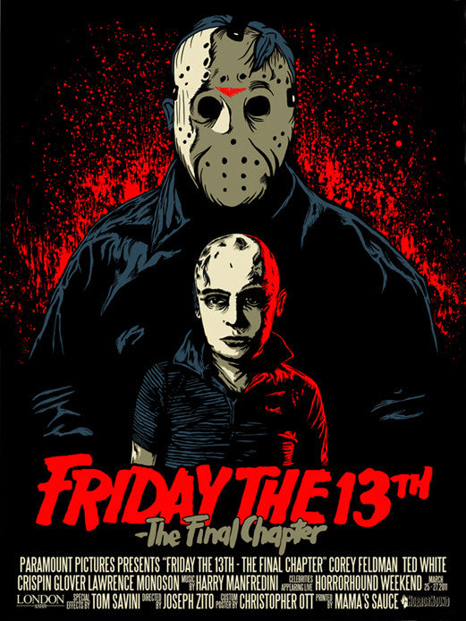 FRIDAY THE 13th THE FINAL CHAPTER by Christopher Ott