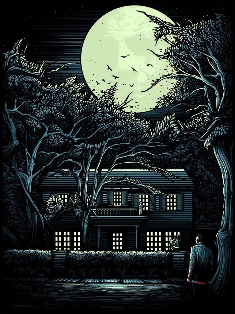 HALLOWEEN: THE NIGHT HE CAME HOME (regular) by Dan Mumford