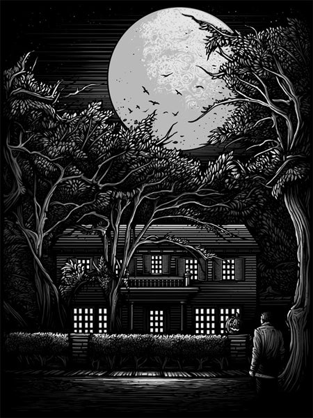 HALLOWEEN: THE NIGHT HE CAME HOME (variant) by Dan Mumford