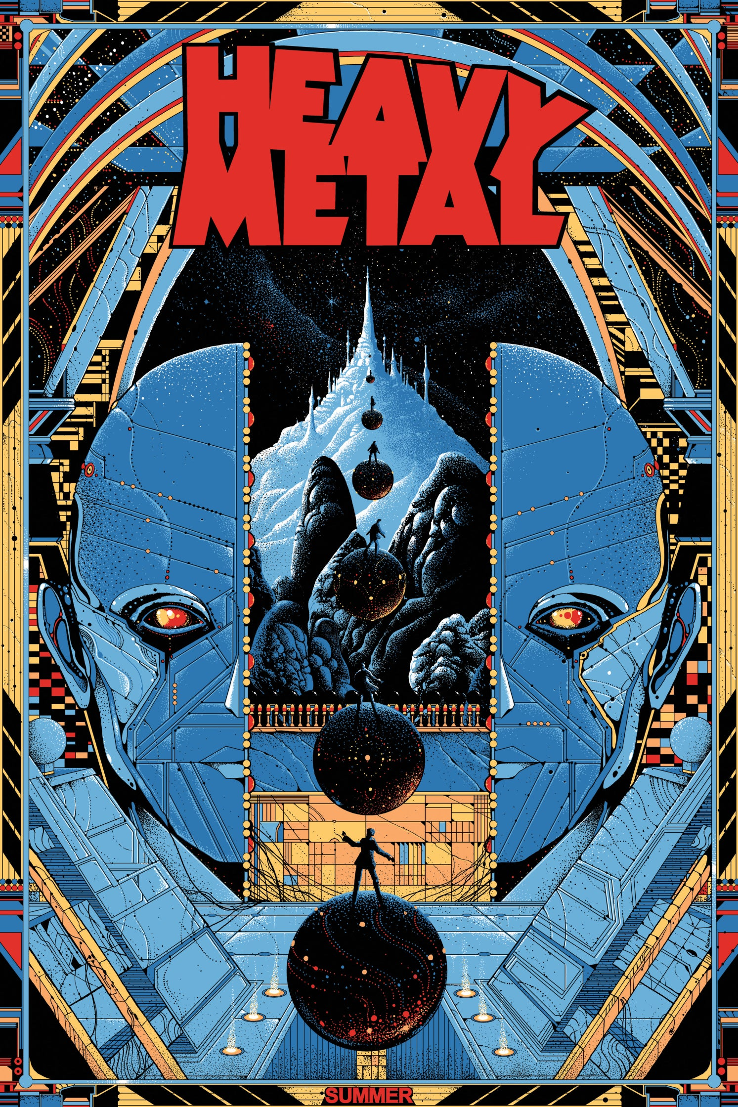 HEAVY METAL (artist proof) by Kilian Eng