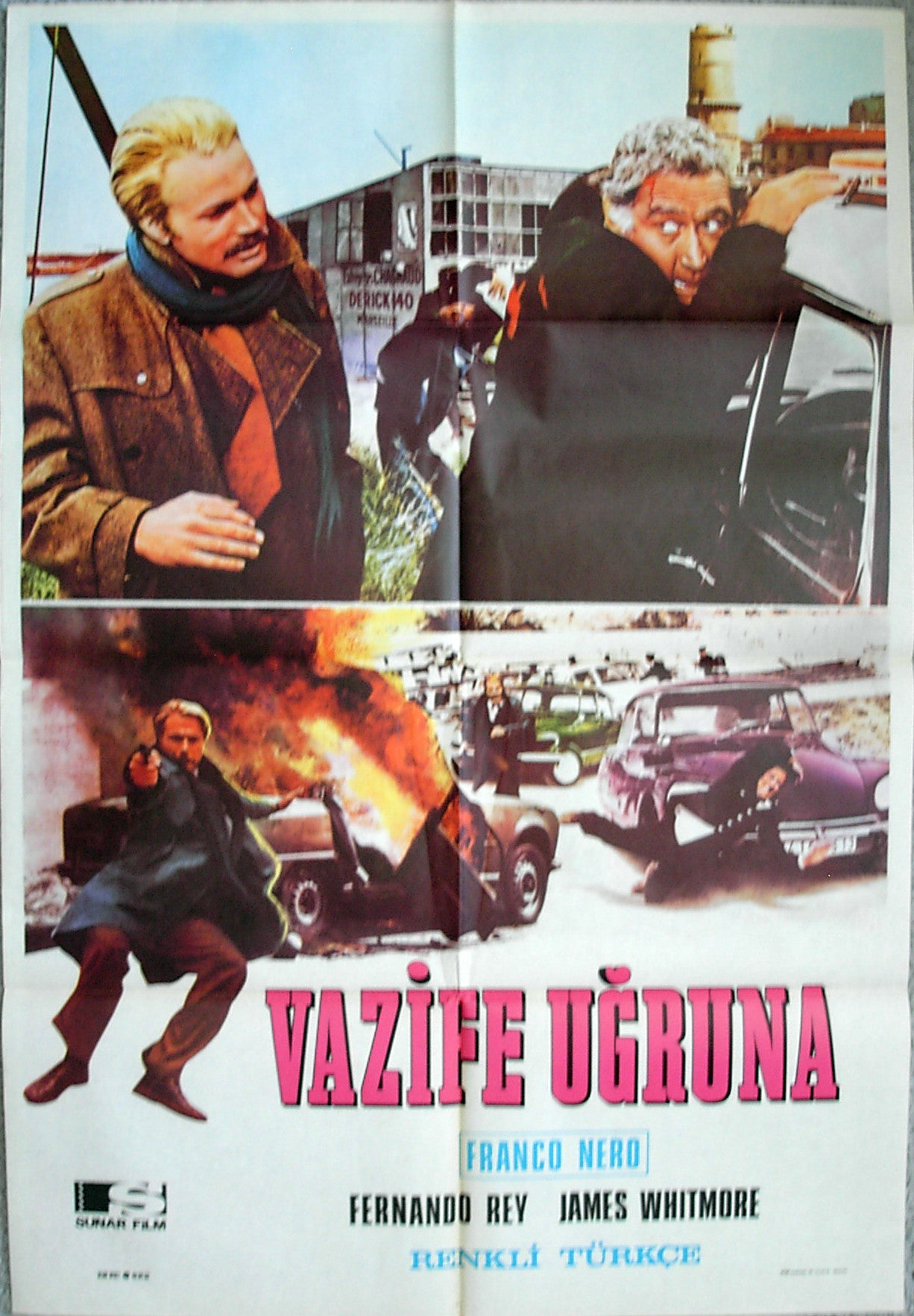 HIGH CRIME - Turkish poster