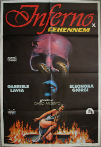 INFERNO - Turkish poster