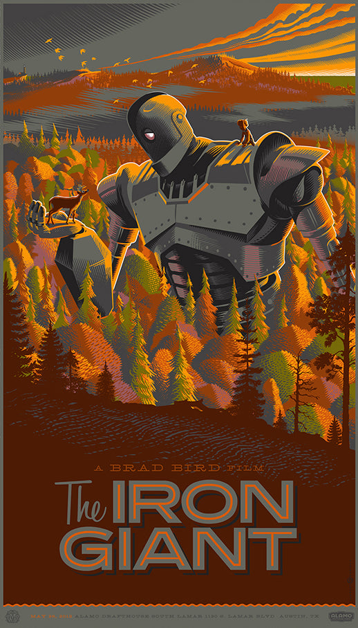 IRON GIANT, THE by Laurent Durieux