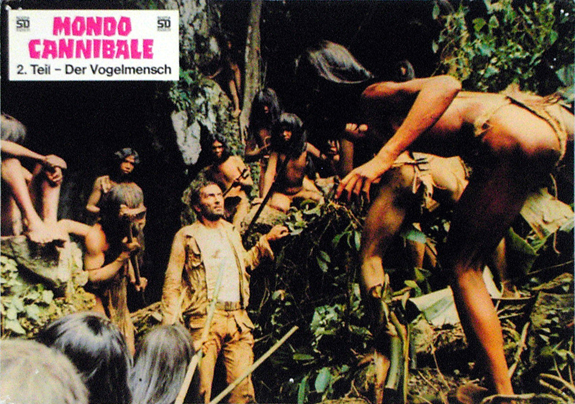 JUNGLE HOLOCAUST - German lobby card v2