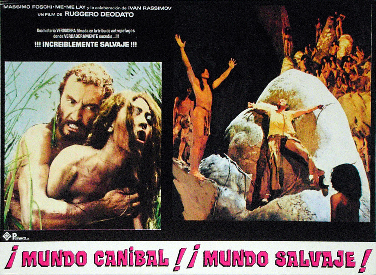 JUNGLE HOLOCAUST - Mexican lobby card v2