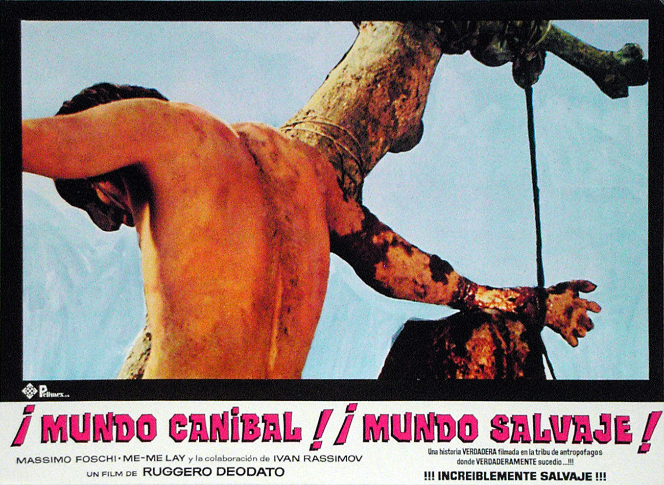 JUNGLE HOLOCAUST - Mexican lobby card v3