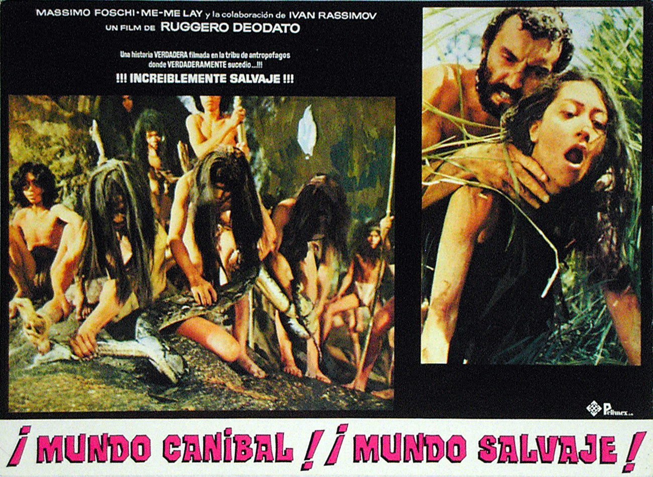 JUNGLE HOLOCAUST - Mexican lobby card v5