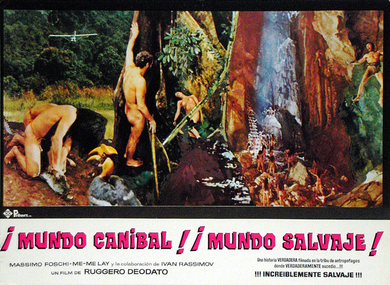JUNGLE HOLOCAUST - Mexican lobby card v6