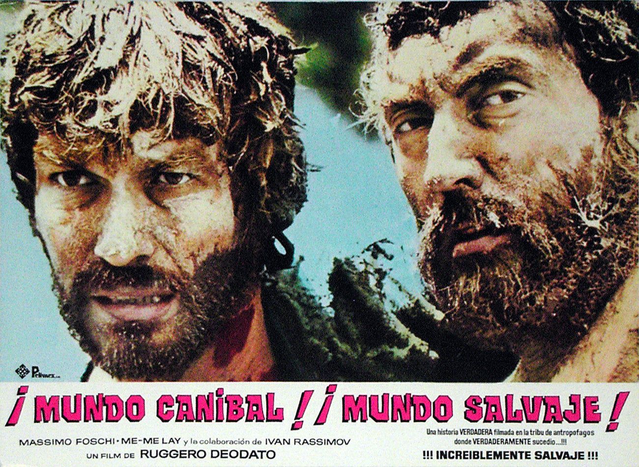JUNGLE HOLOCAUST - Mexican lobby card v8