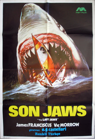 LAST SHARK, THE - Turkish poster
