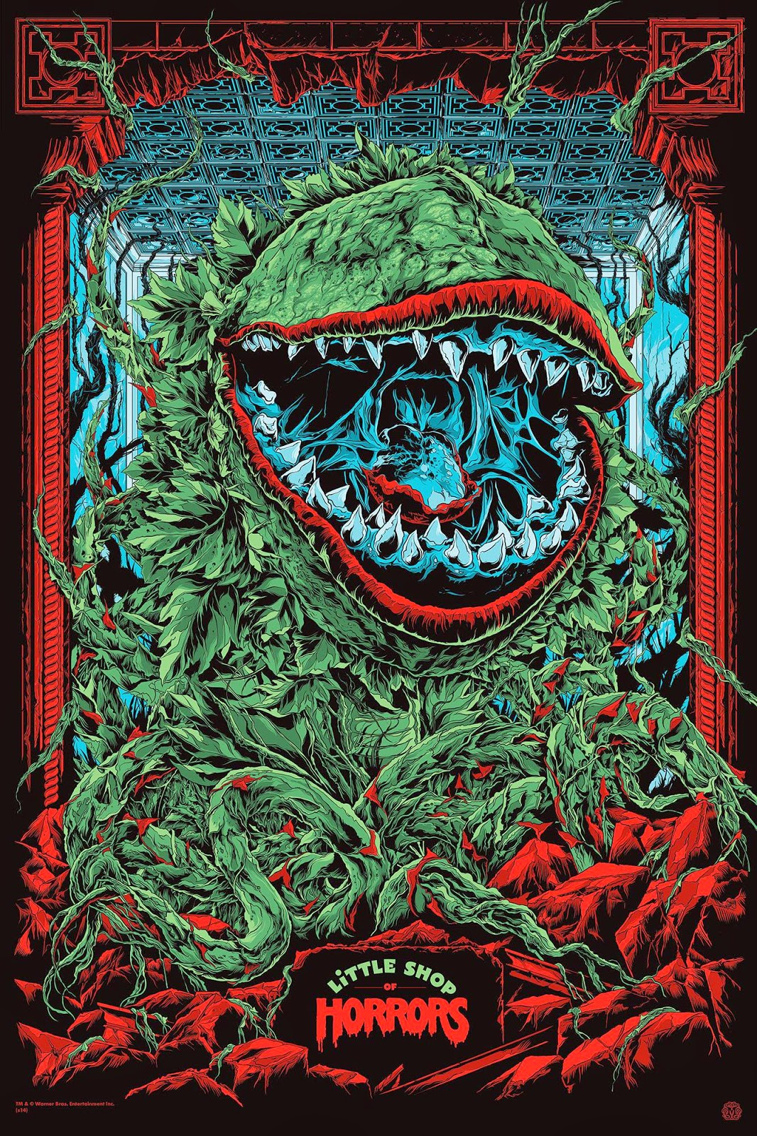 LITTLE SHOP OF HORRORS (variant) by Ken Taylor