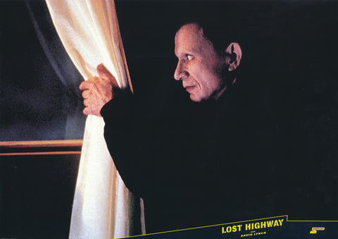 LOST HIGHWAY - German lobby card v5