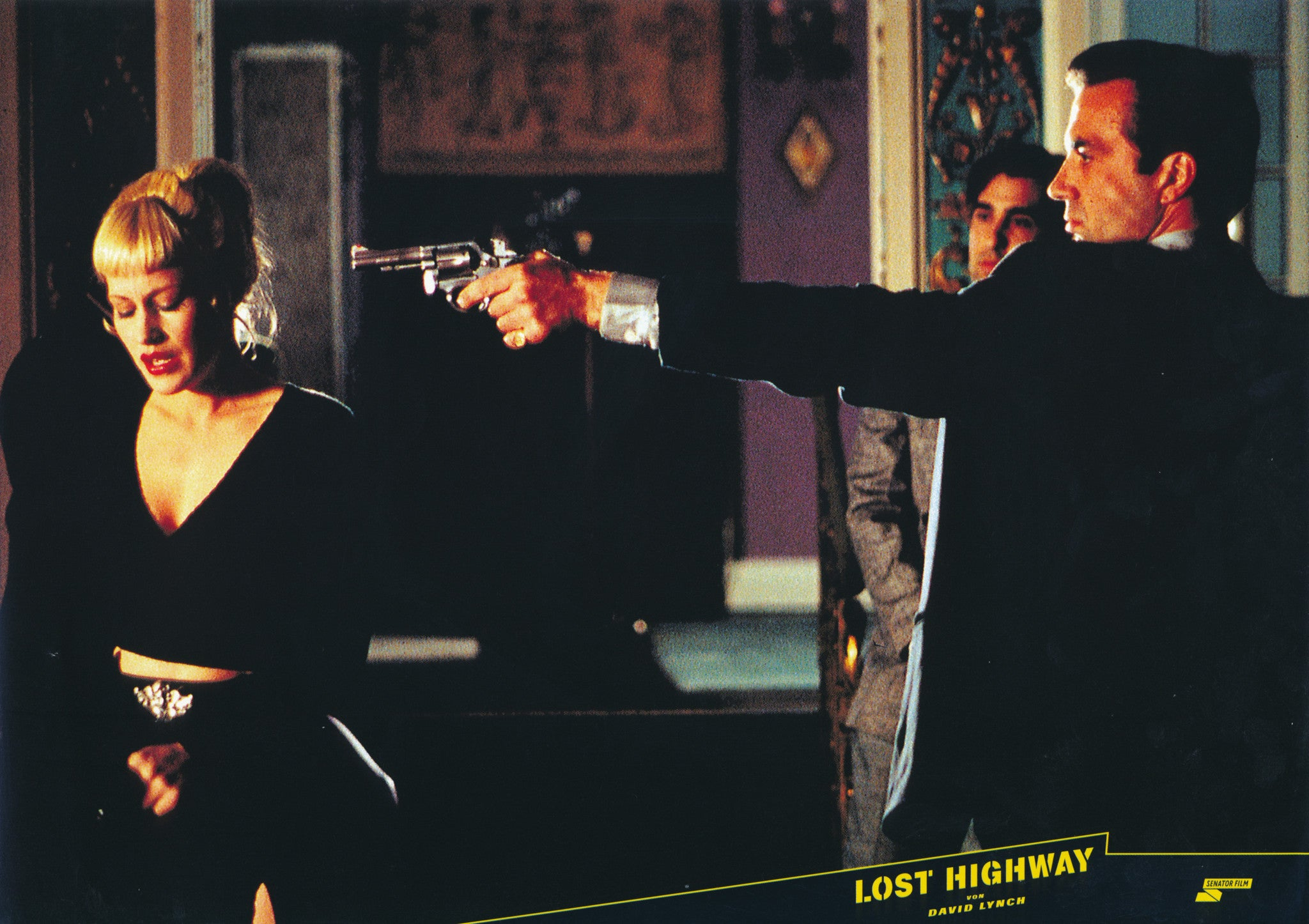 LOST HIGHWAY - German lobby card v8