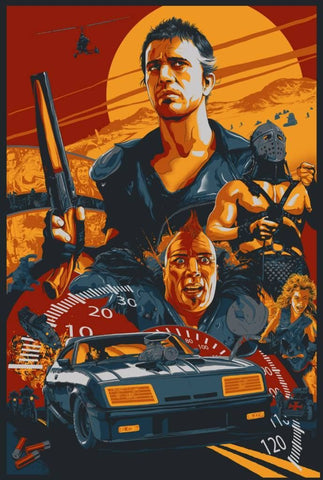 MAD MAX 2 THE ROAD WARRIOR (regular) by Vance Kelly