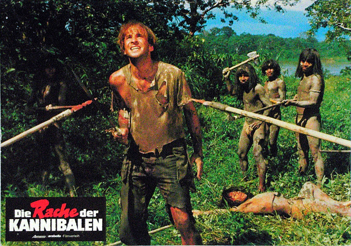 MAKE THEM DIE SLOWLY - German lobby card v01