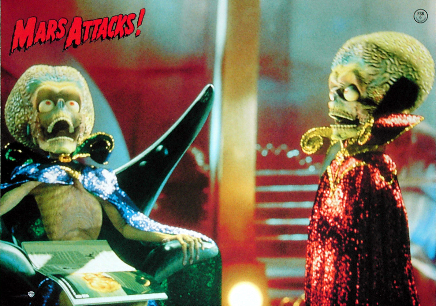 MARS ATTACKS! - German lobby card v2
