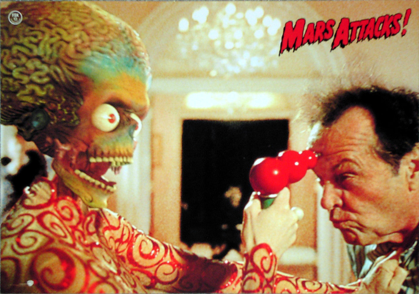 MARS ATTACKS! - German lobby card v3
