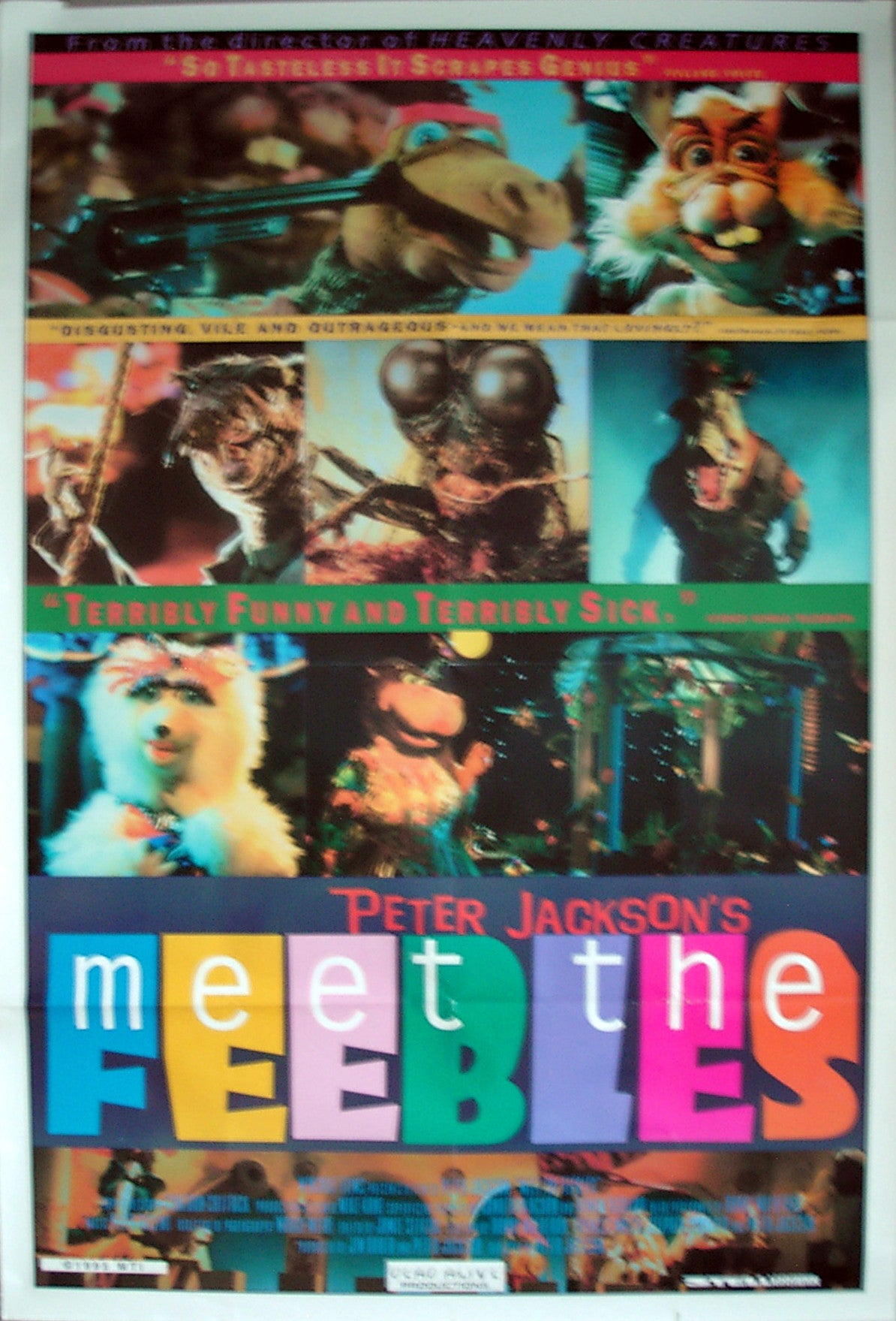 MEET THE FEEBLES - US one-sheet poster