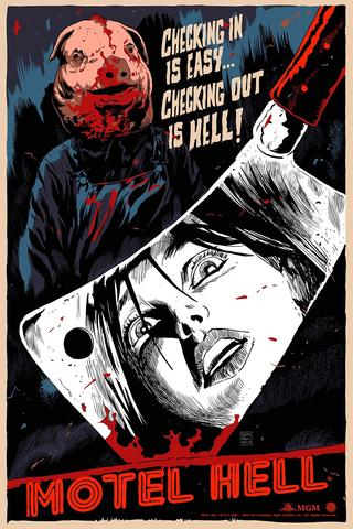 MOTEL HELL (foil) by Francesco Francavilla