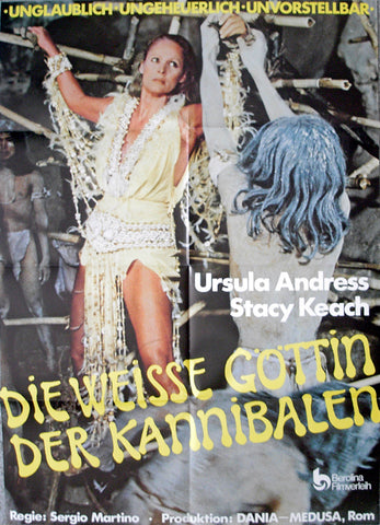 MOUNTAIN OF THE CANNIBAL GOD, THE - German poster